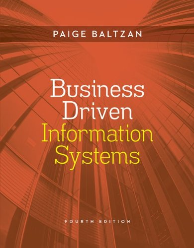 9780077506766: Business Driven Information Systems