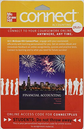 9780077506803: Connect 1-Semester Access Card for Financial Accounting