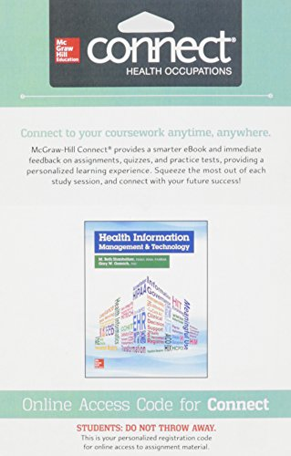 9780077507046: Connect Access Card for Health Information Management and Technology