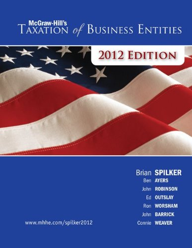 9780077509545: LOOSE-LEAF TAXATION OF BUSINESS ENTITIES 2012 EDITION