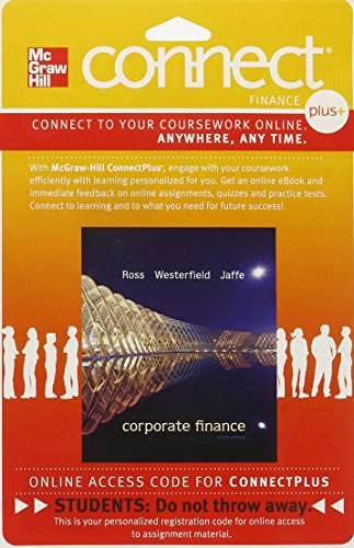 9780077511326: CONNECT PLUS FINANCE WITH LEARNSMART 1S ACCESS CARD FOR CORPORATE FINANCE