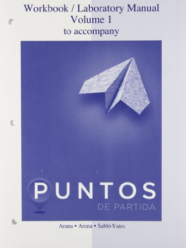 9780077511753: Workbook /Lab Manual VI for Puntos de Partida: An Invitation to Spanish: 1