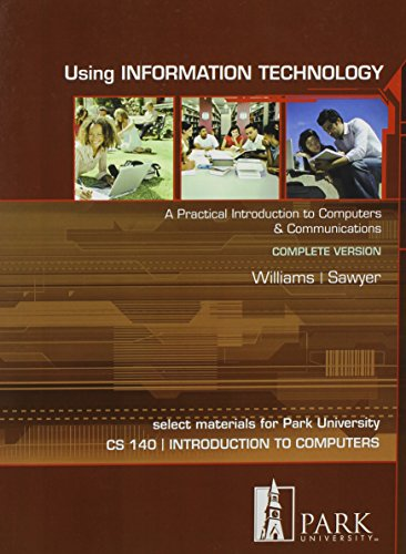 9780077511838: Using Information Technology