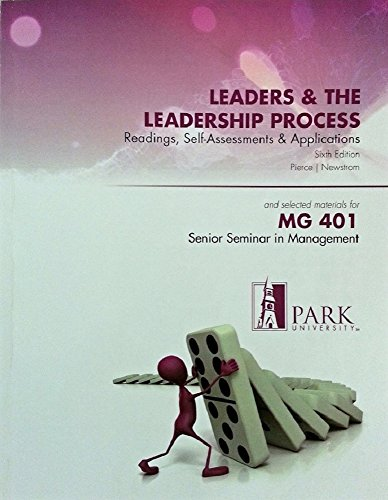 9780077511845: Leaders and the Leadership Process