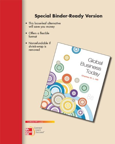 9780077512316: Global Business Today