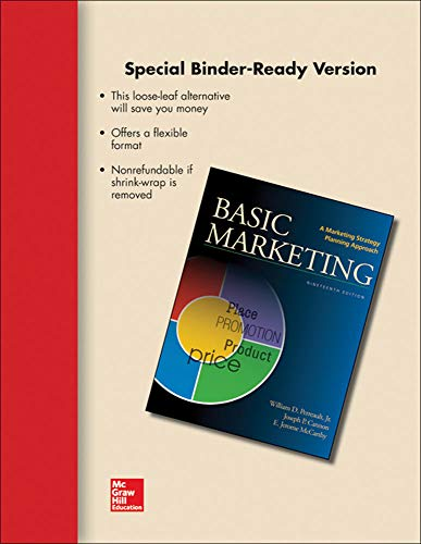9780077512521: LOOSE LEAF FOR BASIC MARKETING
