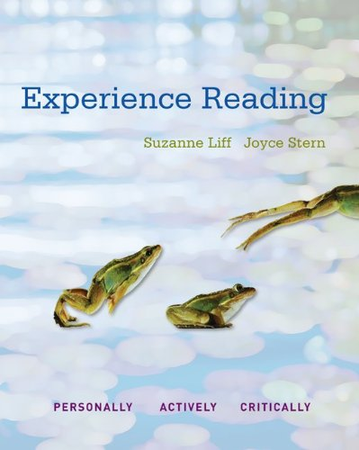 Experience Reading, book 1 with Connect Reading: Suzanne Liff; Joyce