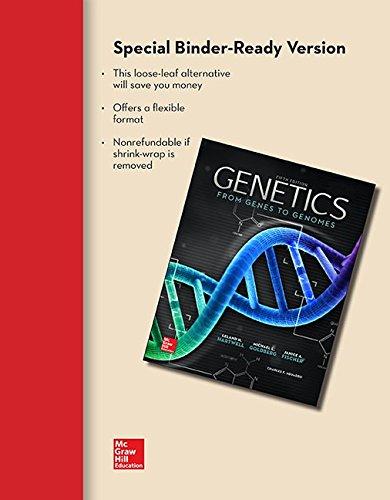 9780077515102: Loose Leaf for Genetics