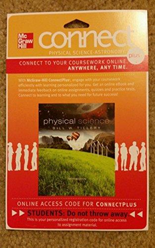 Connect 1-Semester Access Card for Tillery Physical: Tillery, Bill