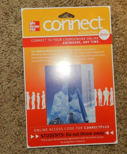 9780077515584: Connect 2-Semester Access Card for Principles of Auding & Other Assurance Service