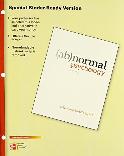 9780077516154: Abnormal Psychology