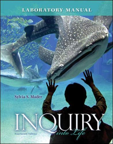 9780077516246: Lab Manual for Inquiry into Life