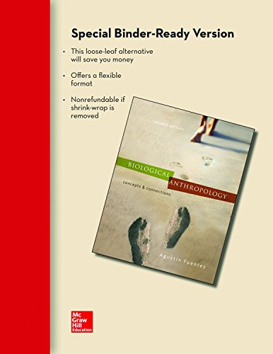 9780077516802: LOOSELEAF FOR BIOLOGICAL ANTHROPOLOGY