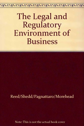 9780077517526: The Legal and Regulatory Environment of Business