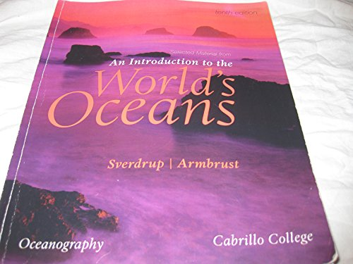 9780077518509: An Introduction to the World's Ocean (Cabrillo College Tenth Edition)