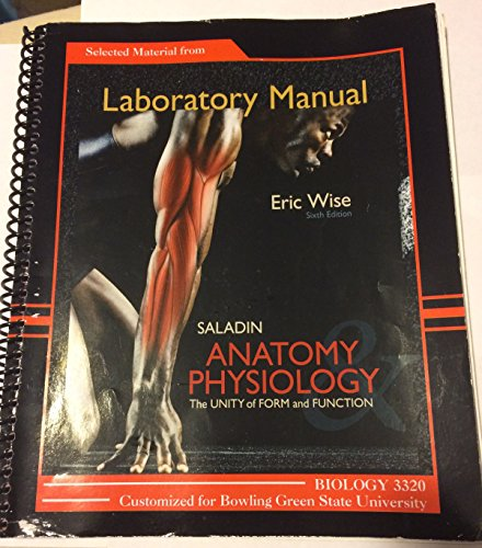 Selected Material From Laboratory Manual to Accompany: Wise, Eric