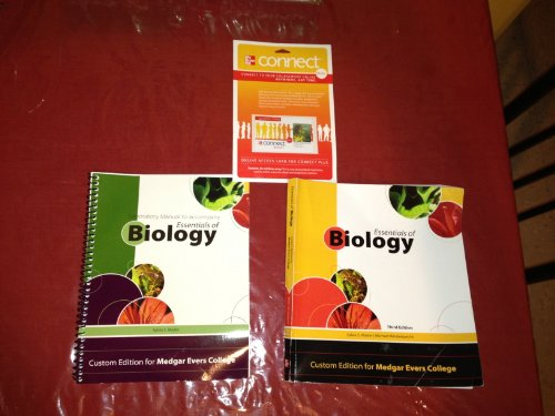 9780077520076: Essentials of Biology Third Edition w/ Lab Manual and Connect Plus Card