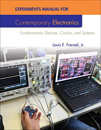 9780077520878: Experiments Manual For Contemporary Electronics