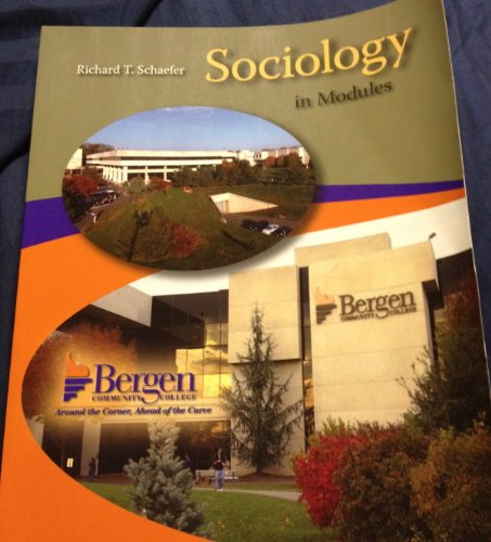 9780077521240: Sociology in Modules (Bergen Community College)