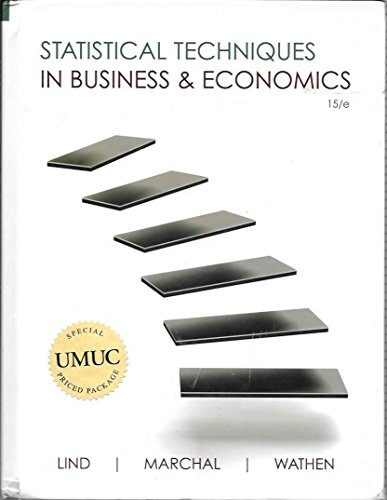 9780077522186: Statistical Techniques in Business & Economics