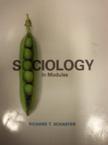 9780077522742: SOCIOLOGY IN MODULES-W/ACCESS >CUSTOM<