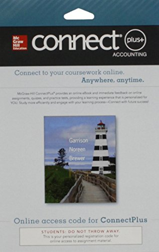 9780077522858: Connect 1-Semester Access Card for Managerial Accounting