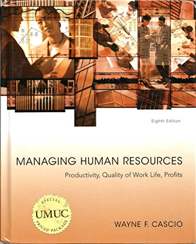 Managing Human Resources: Sherman, Arthur; Snell,