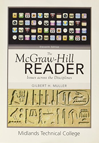 9780077524807: The McGraw-Hill Reader: Issues across the Disciplines (Midlands Technical College)