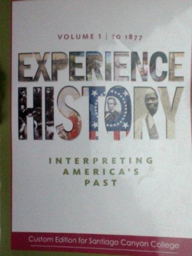 9780077524913: Experience History