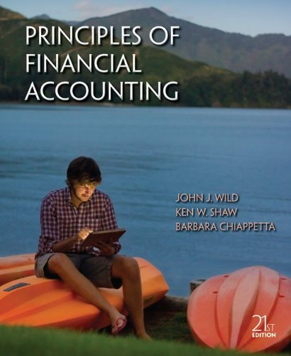 9780077525262: Principles of Financial Accounting (Chapters 1-17)