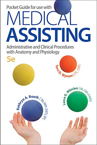9780077525859: Pocket Guide for Medical Assisting: Administrative and Clinical Procedures