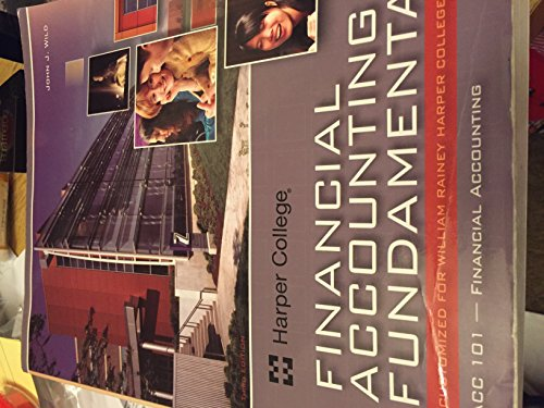 9780077526078: Financial Accounting Fundamentals Custom Edition for Harper College