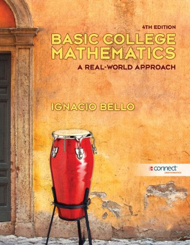 9780077526849: Basic College Mathematics: A Real-World Approach [With Access Code]