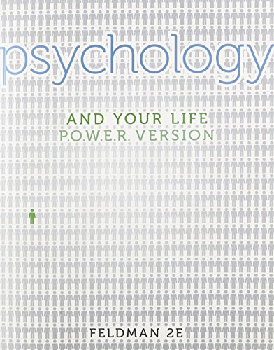 9780077527921: Psychology and Your Life Power Version