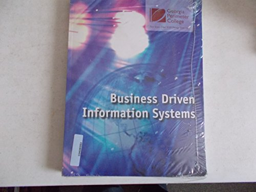 9780077528003: Business Driven Information Systems - GA Perimeter College Edition