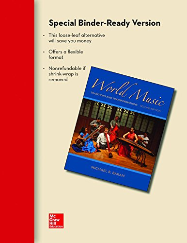 9780077528317: Looseleaf for World Music: Traditions and Transformations