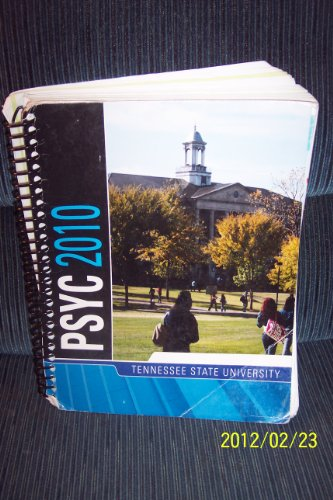 9780077530921: PSYC TENNESSEE STATE UNIVERSITY
