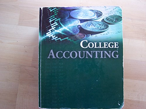 9780077531102: College Accounting