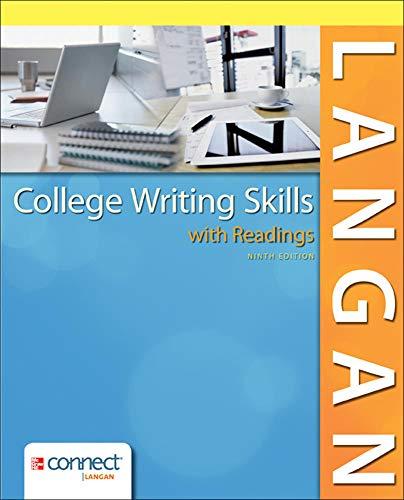 9780077531300: College Writing Skills, 9th Edition