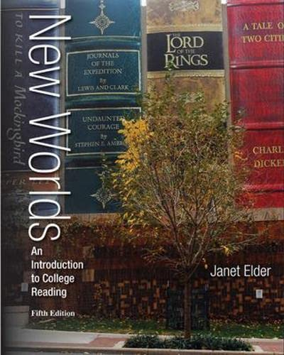 9780077531447: Annotated Instructor's Edition for New Worlds: An Introduction to College Reading