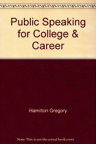 9780077533083: Public Speaking for College & Career