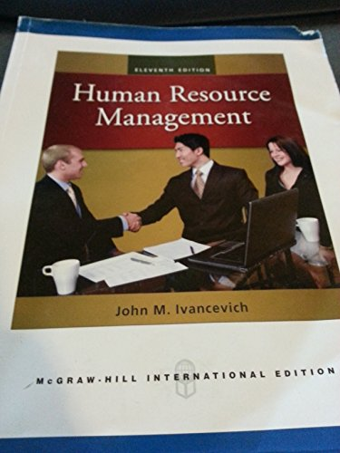 9780077534332: Human Resource Management 11th Edition International Edition