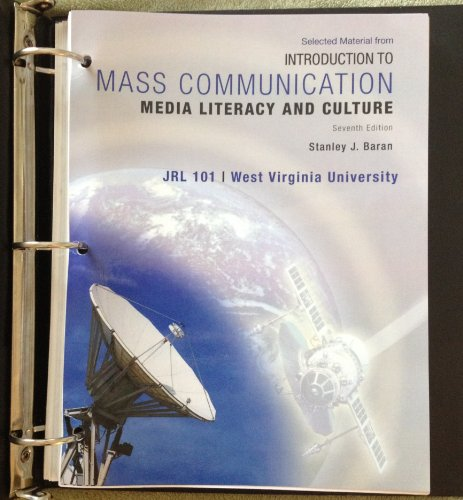 9780077534561: introduction to mass communication (media literacy and culture, jrl 101)