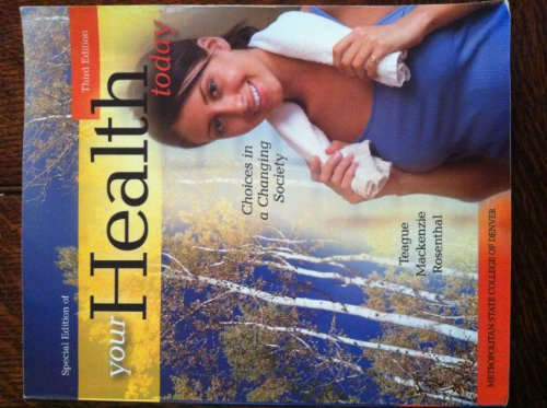 9780077536008: Your Health Today Third Edition