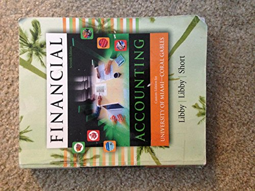 9780077536633: Financial Accounting (Custom Edition: University of Miami)