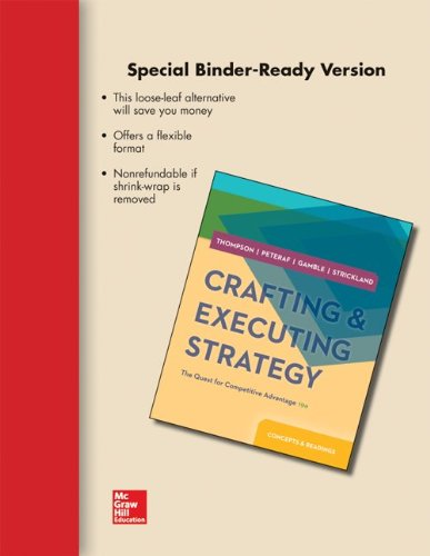 9780077537111: Loose-Leaf Crafting & Executing Strategy: Concepts and Readings