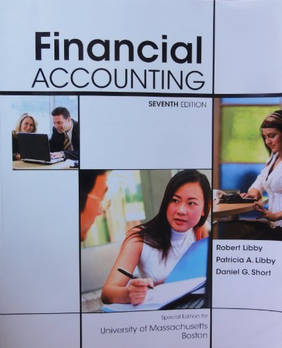 9780077537883: Financial Accounting, Seventh Edition (Special Edition for University of Massachusetts Boston)