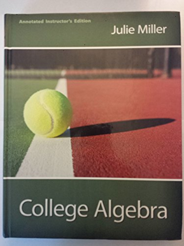 9780077538613: College Algebra, Annotated Instructor's Edition