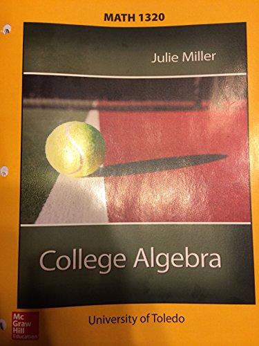 9780077538729: College Algebra (Special Binder-ready Version)
