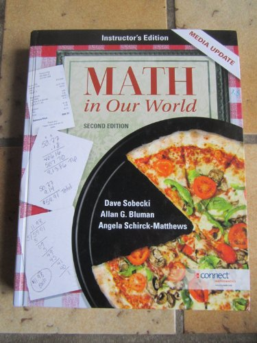 9780077539061: Math in Our World:Media Update: INSTRUCTOR'S EDITION